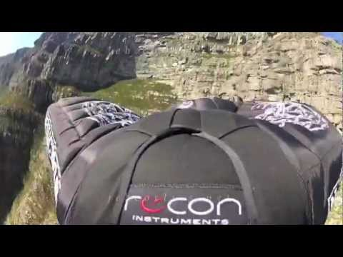 JEB CORLISS SURVIVES CRASH AT TABLE MOUNTAIN IN SOUTH AFRICA WITH BROKEN LEGS