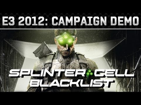 E3 2012: Splinter Cell: Blacklist Gameplay Demo (HD 720p)