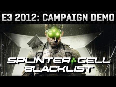 E3 2012: Splinter Cell: Blacklist Gameplay Demo (HD 720p)