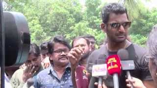 Watch Vishal Paayum Puli Relase Issue - I Will Give My Life  Red Pix tv Kollywood News 03/Sep/2015 online