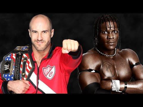 WWE TLC 2012 Antonio Cesaro vs R-truth United States Championship match (WWE 13 PG)