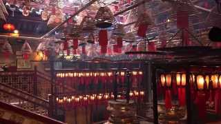 Man Mo Temple Hong Kong in 4K 香港文武廟 Sony FRD AX100 test