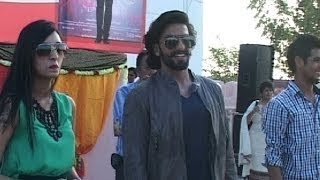 Ranveer Singh visits Chandigarh for the promotion of 'Ram-leela'