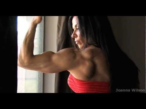 Joanna Wilson big ripped Fitness muscles