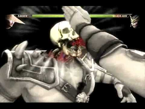 MORTAL KOMBAT 9 : X-Rays on KINTARO,GORO,SHAO KAHN