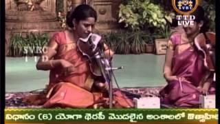 'Parama Purusha', Raga Shanmukhapriya, Saint Annamacharya