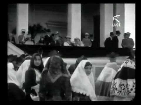 I Savoia inaugurano l'ippodromo Poetto / Maggio 1929 [Istituto LUCE]