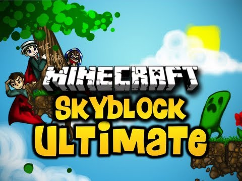 Minecraft Skyblock ULTIMATE Ep. 2 w/ Luclin &amp; Wolv21 (HD)