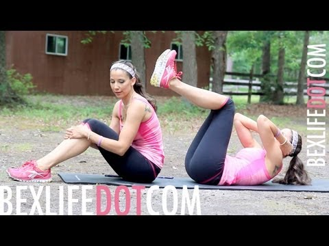 Lose Your LOVE HANDLES & MUFFIN TOP Workout : Work It Out Wednesday - BEXLIFE