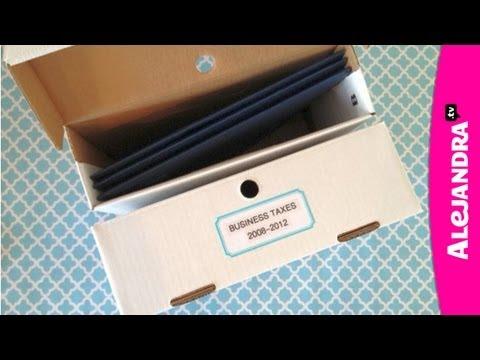 Organize Your Taxes: Getting Organized for Tax Season - UCcvu0uB6SzugED_5FEC7Z0Q
