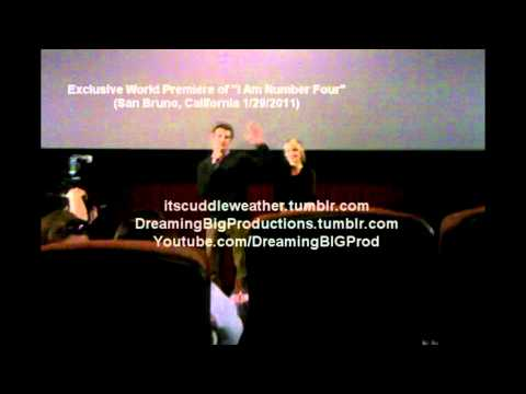 """ I Am Number Four "" Alex Pettyfer & Dianna Agron Pre Screening Conference( San Bruno 1/29/2011)"
