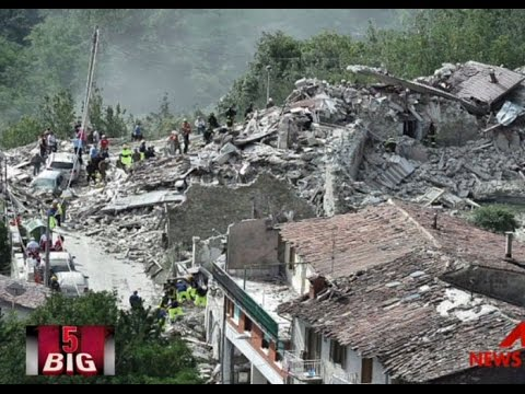 Big 5: Dozens dead as Italy struck by powerful quake