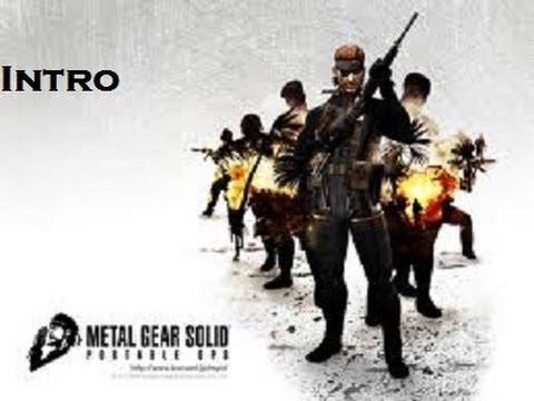 Metal Gear Solid: Portable Ops Walkthrough - Intro [HD]