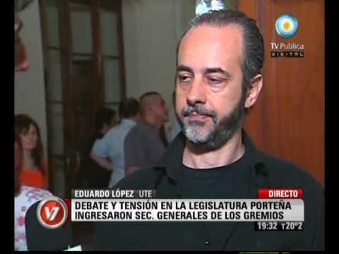 Visión Siete: Legislatura porteña: Debate por las Juntas de Clasificación