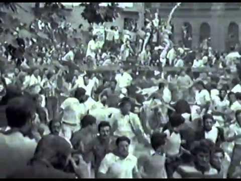 Encierro San Fermin Pamplona del día 8 7 1976  Encierro de San Fermín   Ganadería Guardiola