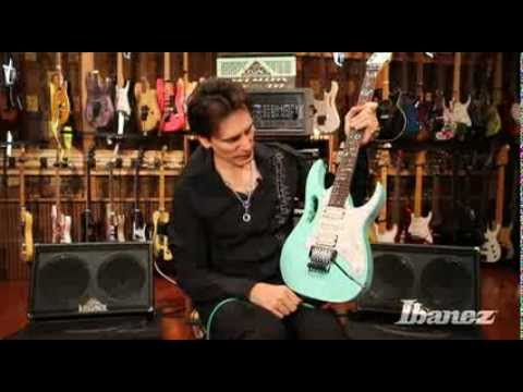 Steve Vai discusses his Ibanez JEM70VSFG signature model
