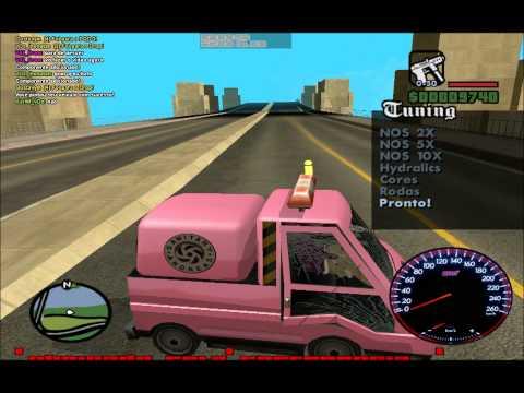 Pior Batida da Historia do GTA San Andreas!!!