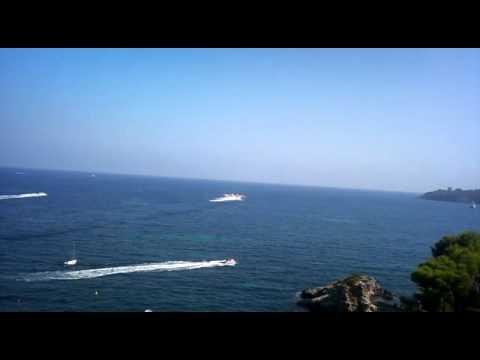 Fire in Mallorca!!! Fuego en Mallorca!!! Canadair loading on the sea!!!
