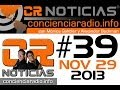 CR NOTICIAS EPISODIO 039 NOV 27 2013