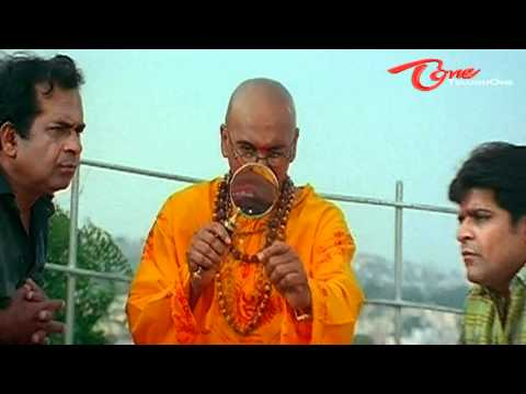 Brahmanandam &amp; Ali's Jyothishyam Scene - Telugu Comedy -tzT8f9S_U60