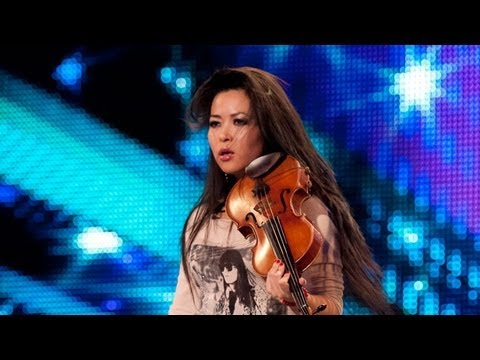 Violinist Analiza Ching - Britain's Got Talent 2012 audition - UK version