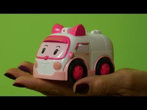 Мультфильмы про машинки - Алфавит для Детей - дискотека с Робокаром Поли
