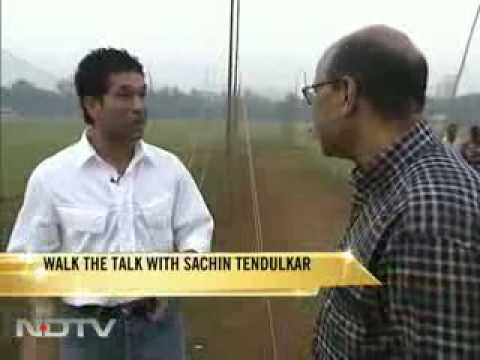 Sachin Tendulkar Interview Talking Bats, Training and Cricket Stories