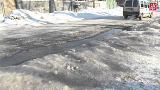 В Житомире прорвало канализацию