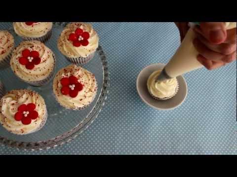 Como decorar Cupcake Red Velvet