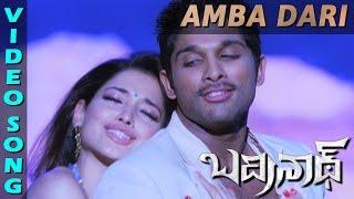 Ambadari Full Video Song | Badrinath