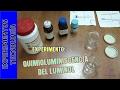 Luz química, quimioluminiscencia del Luminol
