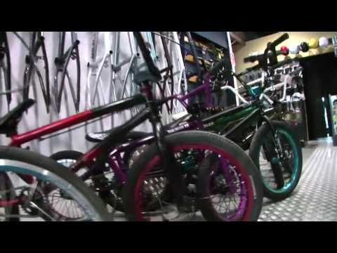 BMX: when bikes join the urban environment