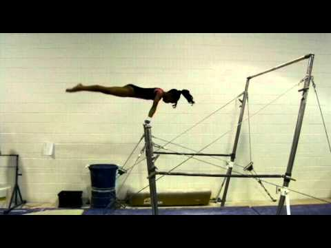 USAG/ AAU Gymnastics Level 4 Bar Routine Tutorial
