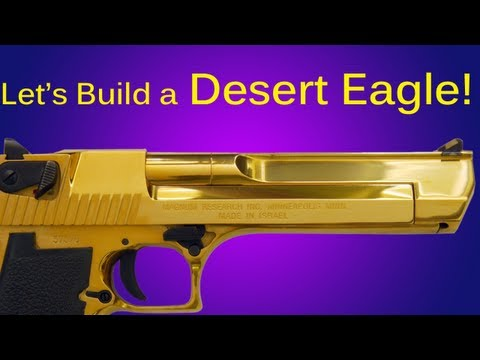 How to Make a Cardboard Desert Eagle Pistol