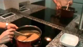 receta pudin de chocolate