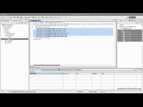 Struts 2 Tutorial 04 Part 1 - Writing a Struts 2 Application