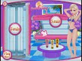 Фрагмент с средины видео - Disney Frozen Game - Princess Elsa Tanning Salon