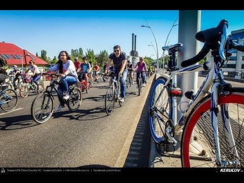 Montaj video: Vrem un oras pentru oameni! - 2 - marsul biciclistilor, Bucuresti, 21 aprilie 2018 [VIDEO]