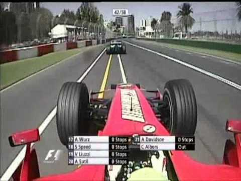 Overtaking Action at Australia 2007