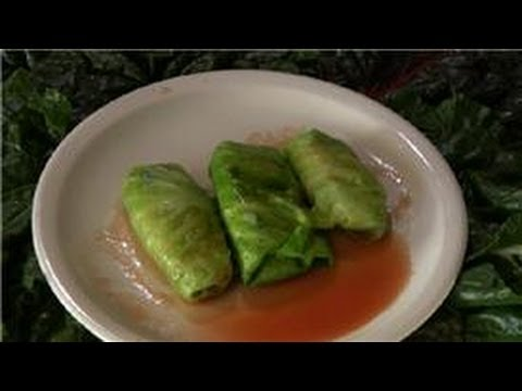 Cabbage Recipes : How to Make Middle Eastern Dolma With Cabbage