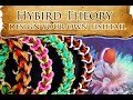 Hybrid Theory - How to Design Lesson 1 - Clown Fishtail, Tang Fishtail and ? Rainbow Loom Bracelet