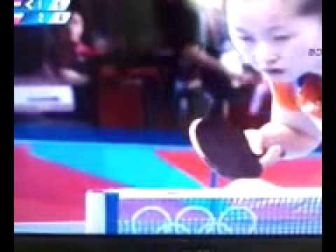 Stonotenisačica bez ruke na Olimpijadi