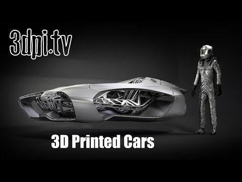 3D Printed Cars Becoming Reality