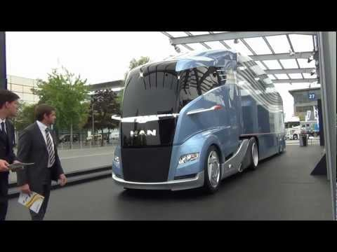 "New 2012 MAN ""Spacetruck"" @ IAA Expo Hannover 2012"