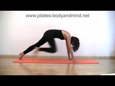 Pilates - Esercizi di Stretching per Glutei, Gambe e Schiena (Parte 2)