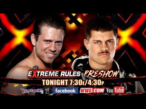 Don't miss the WWE Extreme Rules 2013 Pre-Show - Tonight!