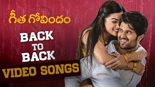 Geetha Govindam Back to Back Video Song
