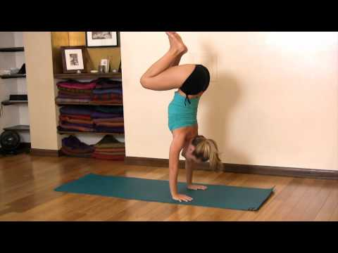 Handstand Jump with Both Legs,  Kino Yoga