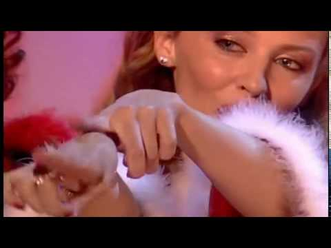 Kylie Minogue - Santa Baby Live (TOTP UK 2000)