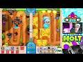 Фрагмент с середины видео Bloons TD Battles  ::  CRAZY LATE GAME